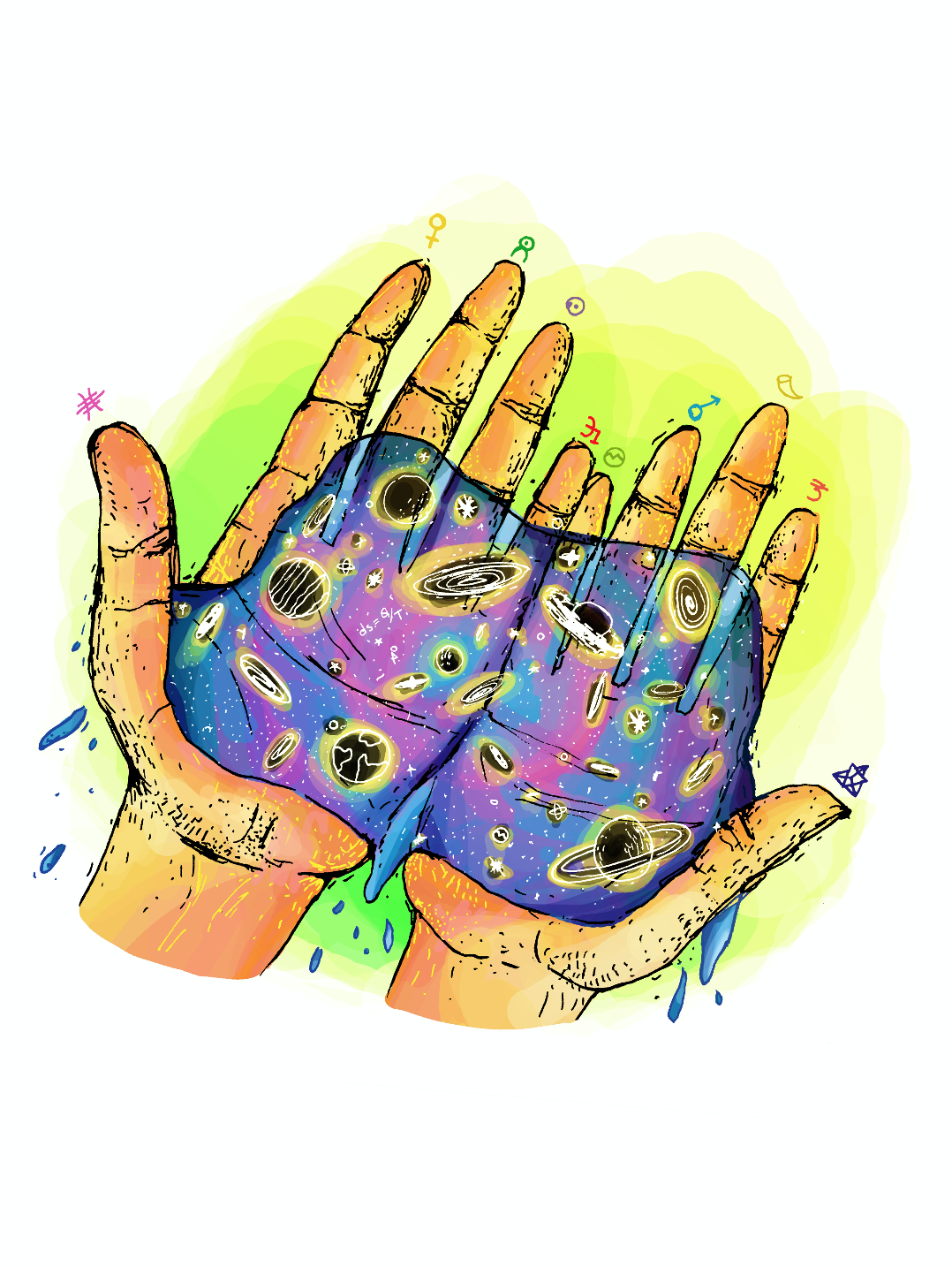Space hand